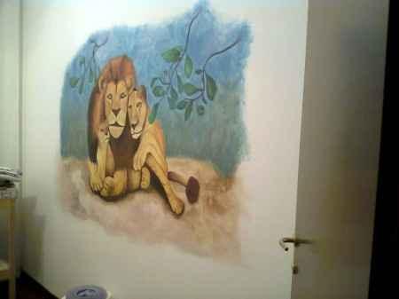 Disegno su parete 3