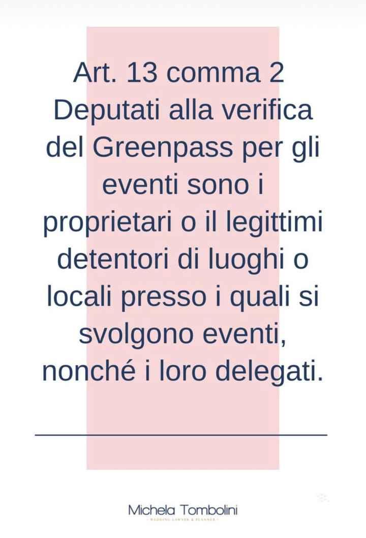 Green pass chiarimento - 1