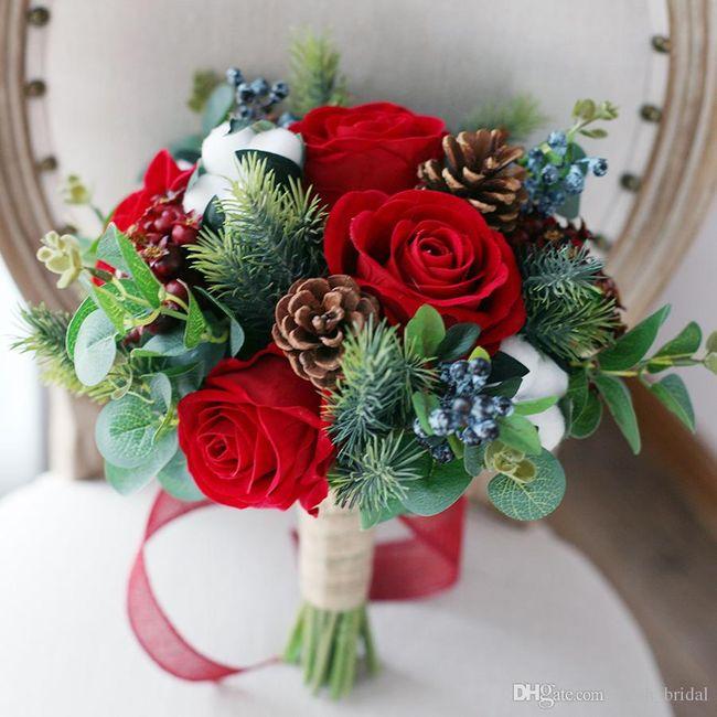 Bouquet natalizio 🎄 confido in voi colleghe 😎 9