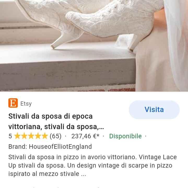 Stivaletti come scarpe da sposa, si oppure no e perché no? - 1