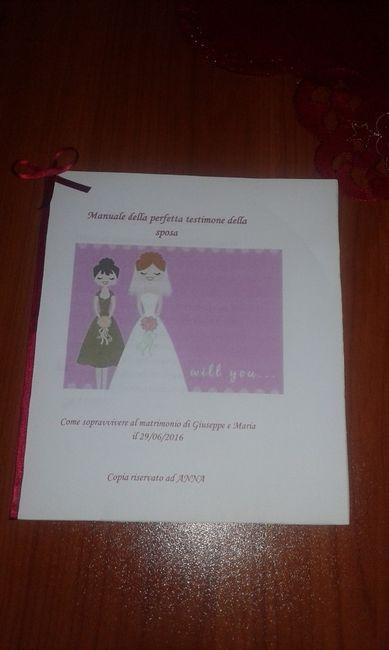 Manuale della perfetta testimone della sposa