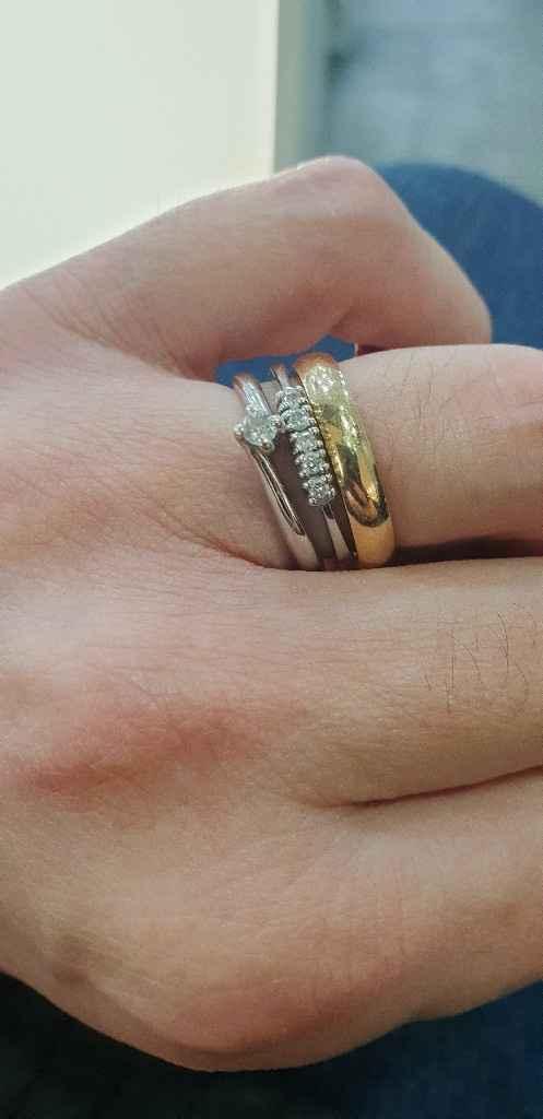 Fede e anello di fidanzamento - 3