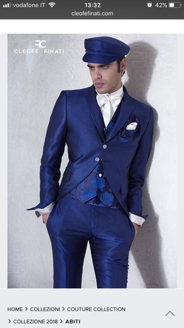 7c12b00963da L abito del mio principe azzurro.. blu! 💕 - Moda nozze - Forum ...