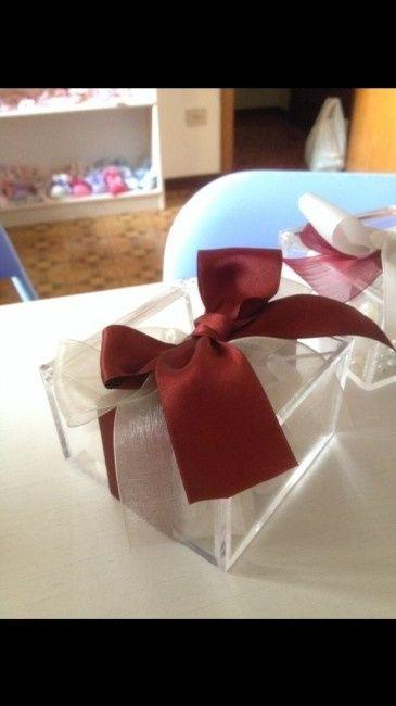 Bomboniere plexiglass confetti e zuccherini - 1