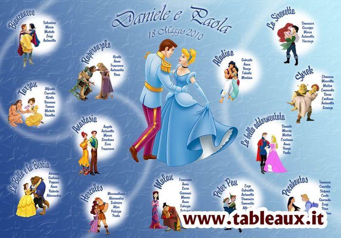 Matrimonio Tema Walt Disney : Tableau disney organizzazione matrimonio forum
