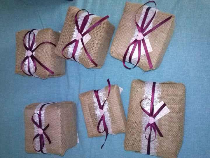 pacchetti bomboniere testimoni e padrino e madrina battesimo