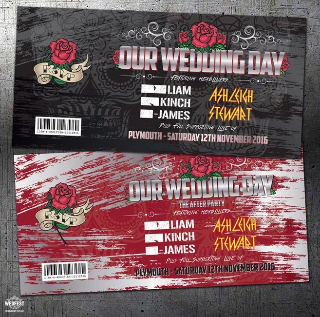 Matrimonio Rock: spunti e idee 🎸 - 4