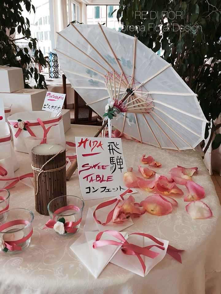 Matrimonio tema Giappone - show cooking - 12