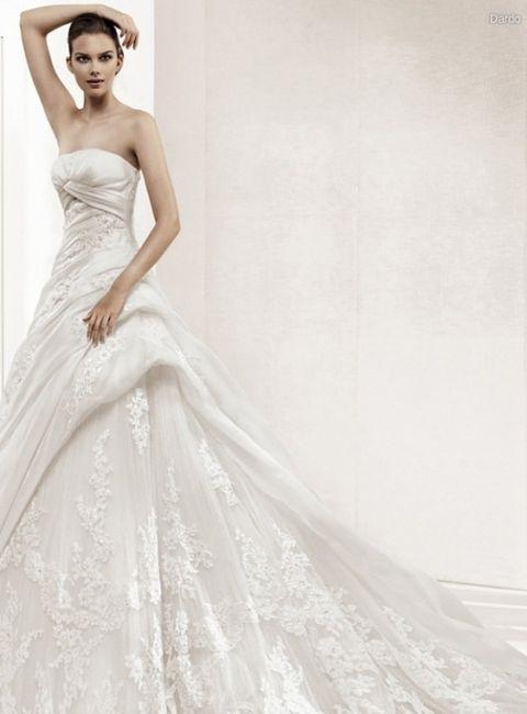la sposa modello dardo