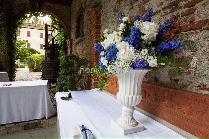 Fiori Bianchi Ottobre.Fiori Bianchi E Blu Pagina 6 Prima Delle Nozze Forum