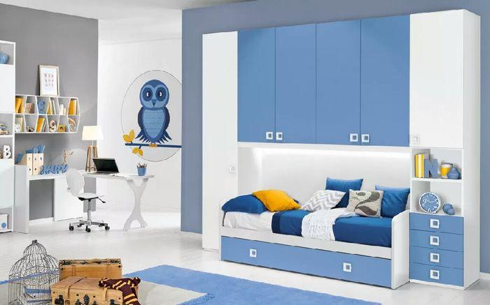 Colori pareti cameretta maschio e femmina good colori e tendenze per camerette with colori - Colori parete cameretta ...