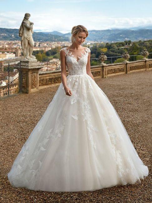 3 abiti da sposa...❤️ 2
