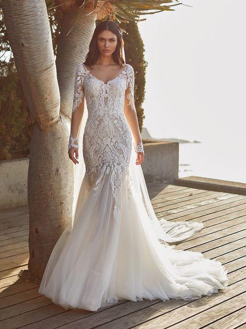 3 abiti da sposa...❤️ 1