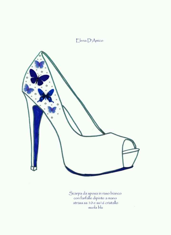 Scarpe blu o bianca? - 1