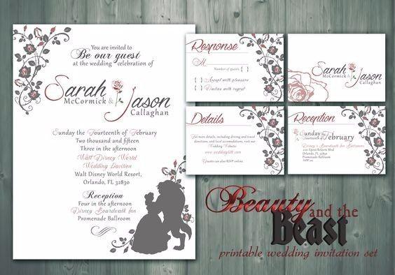 Matrimonio Tema Bella E La Bestia : Matrimonio tema bella e la bestia pagina