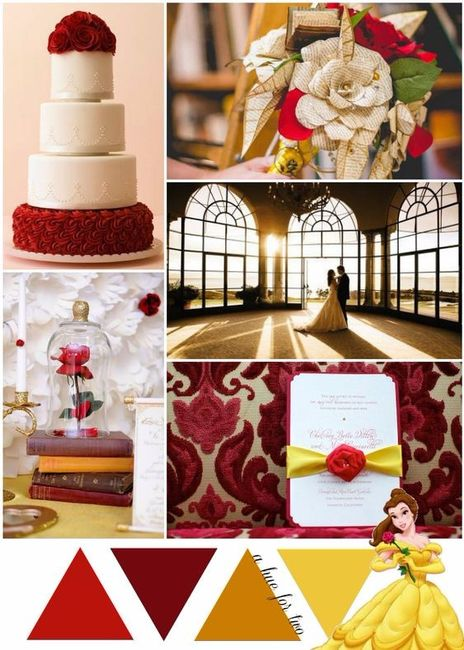 Matrimonio Tema Bella E La Bestia : Matrimonio tema bella e la bestia organizzazione
