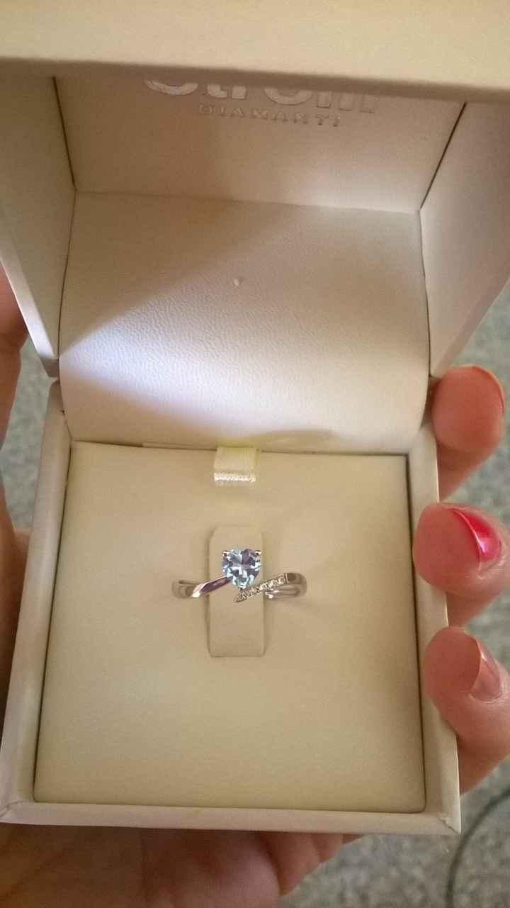 Il mio anello di fidanzamento