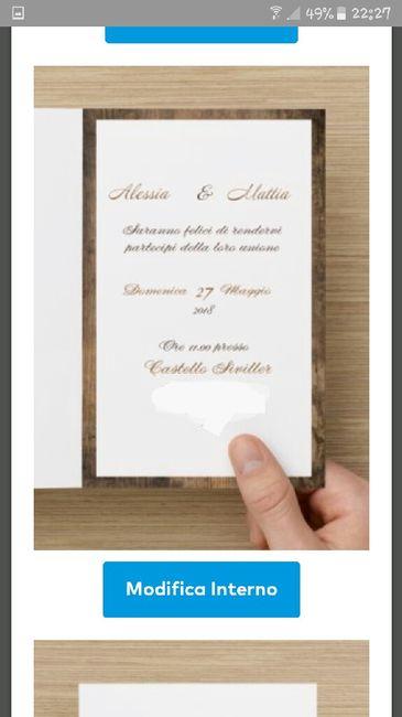 Partecipazioni Matrimonio Vistaprint.Partecipazioni Vistaprint Prima Delle Nozze Forum Matrimonio Com