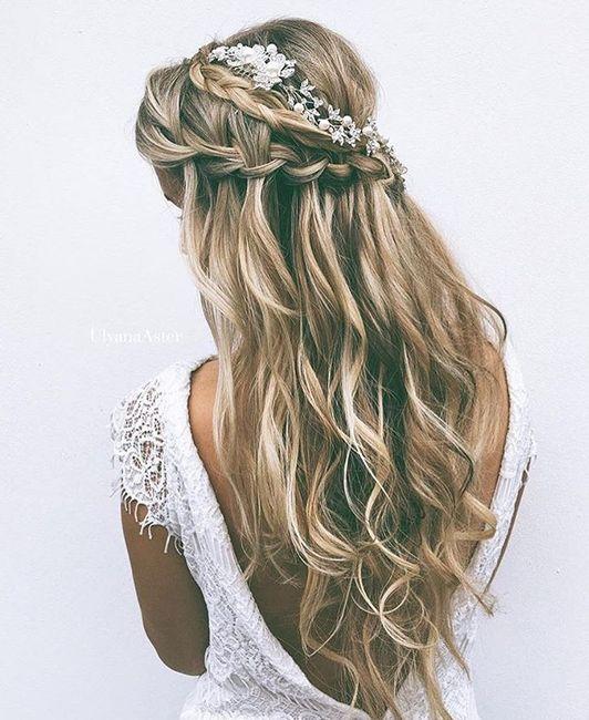 Come porterai i capelli il giorno delle nozze? - 1