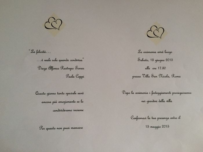 Inviti Matrimonio Simbolico : Savethedate partecipazioni inviti al ricevimento quale