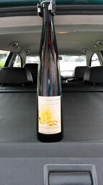 Bottiglia di vino come bomboniera? - 1