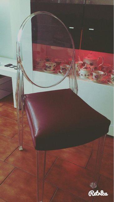 Scelta tavolo e sedie - 1