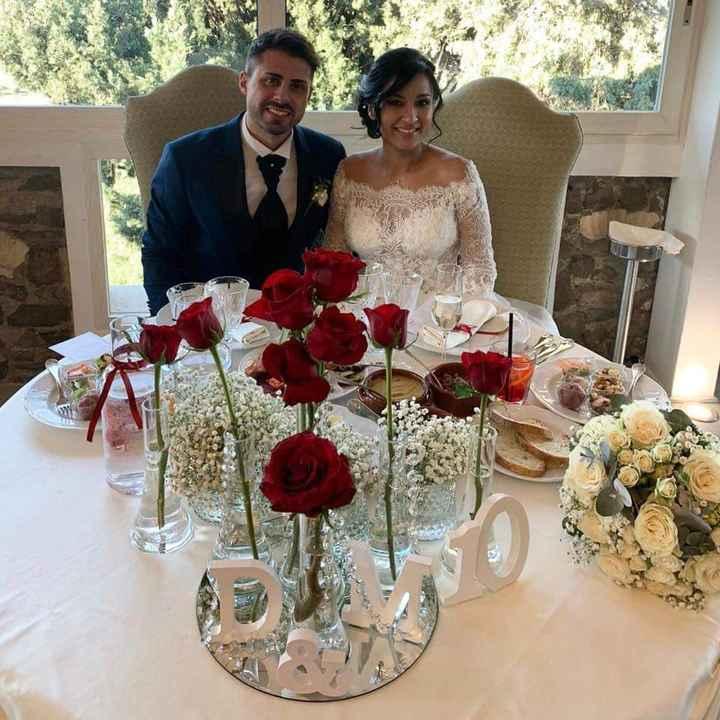 Tavolo sposi 1