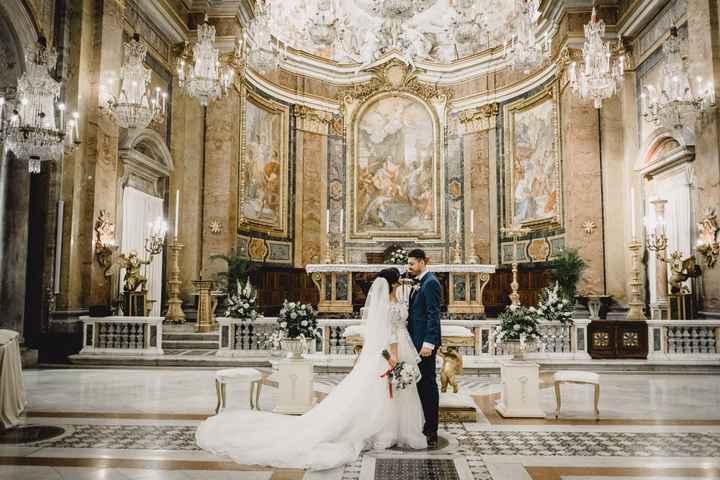 Qual è la foto più bella del vostro matrimonio? 9