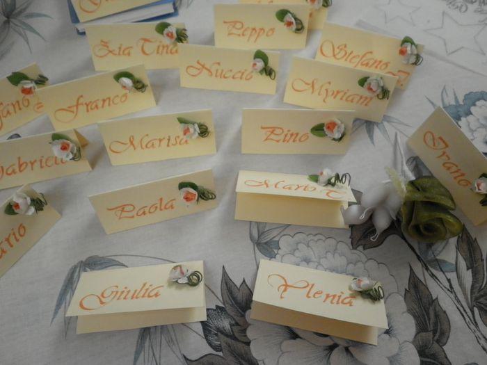 Segnaposto Matrimonio Con Girasoli : Segnaposto fai da te forum matrimonio