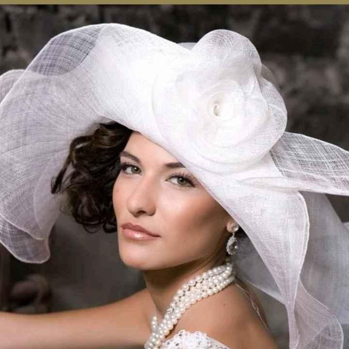 Cappello da sposa - 1
