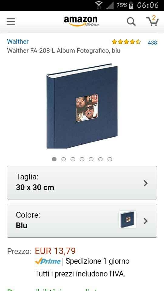 Aaa cercasi album per foto viaggio di nozze - 1
