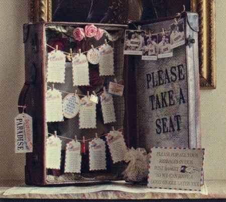 Tableaux de mariage shabby!!! - 1