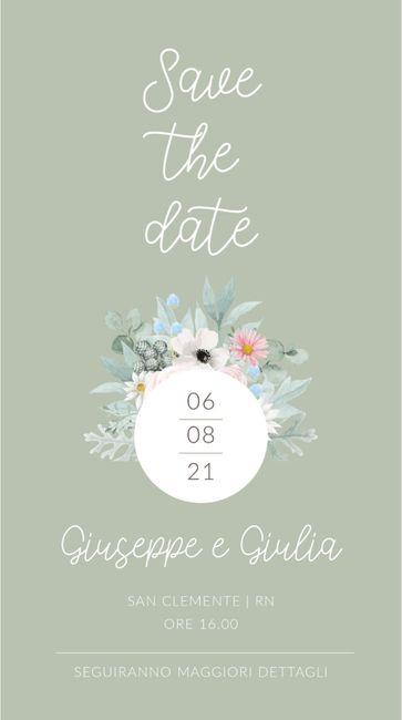Save the date inviati!! 1