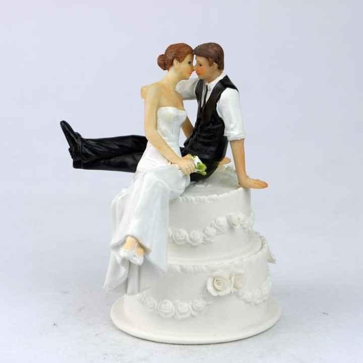 Che tipo di sposa sei? - il cake topper degli sposi - 1