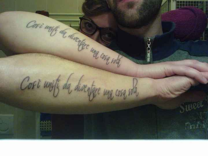 Sposine con tattoo - 3