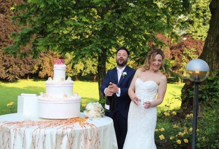 Gusto wedding cake 😋🍰 1