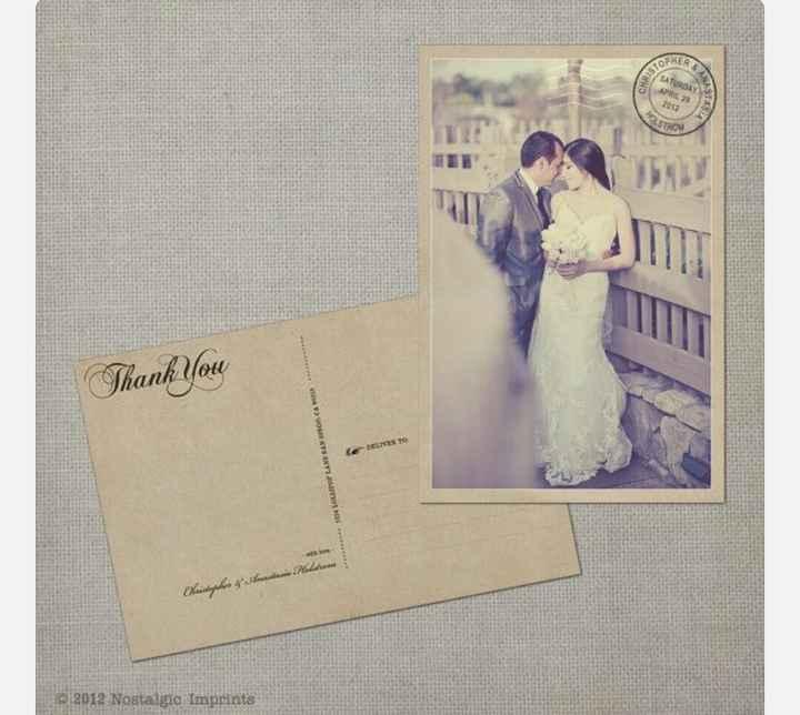 Ringraziamenti - Stampa cartoline - 1
