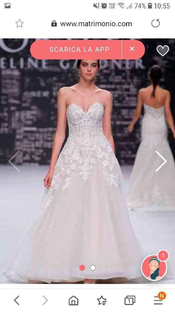 Sondaggio abito da sposa sparkling: sì o no? - 1