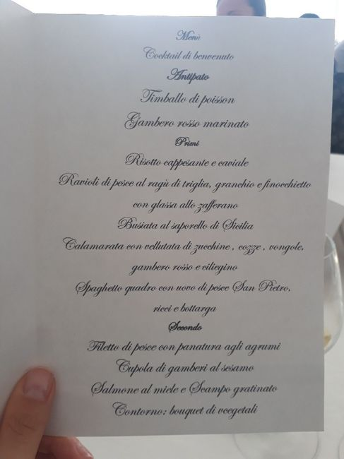 Prova menu baglio della luna Partinico - 1