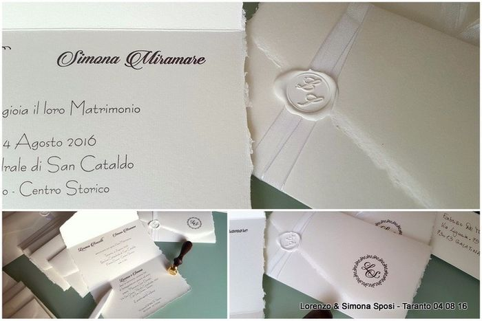 Popolare Partecipazioni in carta amalfi - Organizzazione matrimonio - Forum  RE66