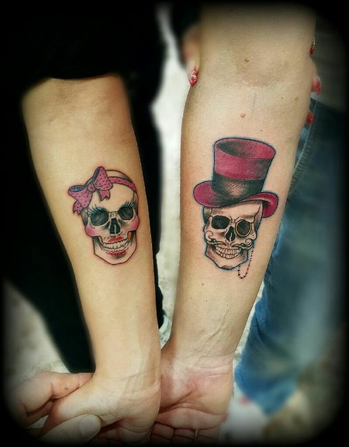 Matrimonio Tema Tatuaggi : Tatuaggio di coppia moda nozze forum matrimonio