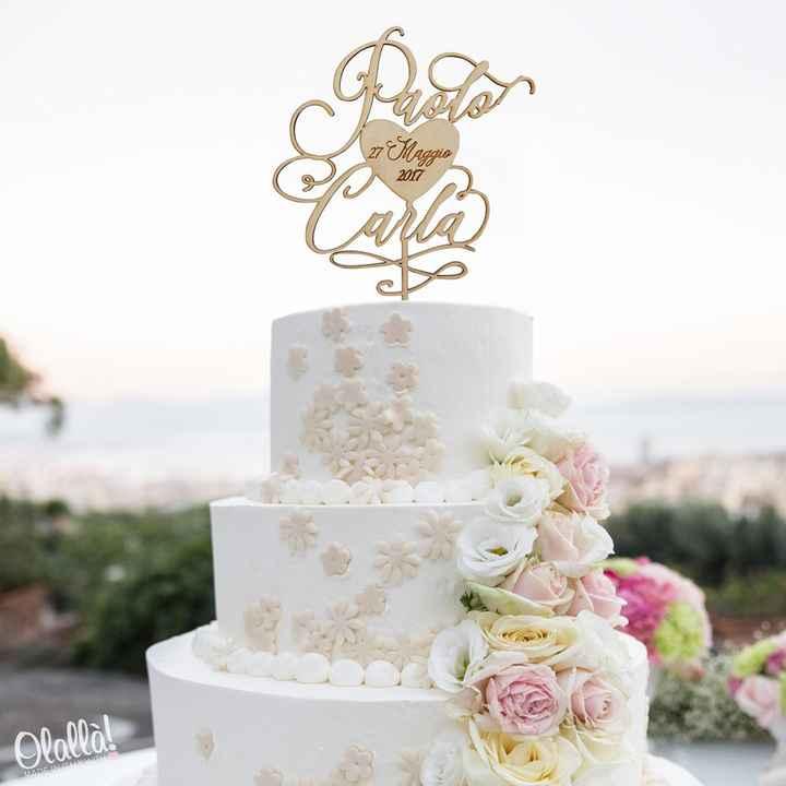 Cake topper 😍 - 2
