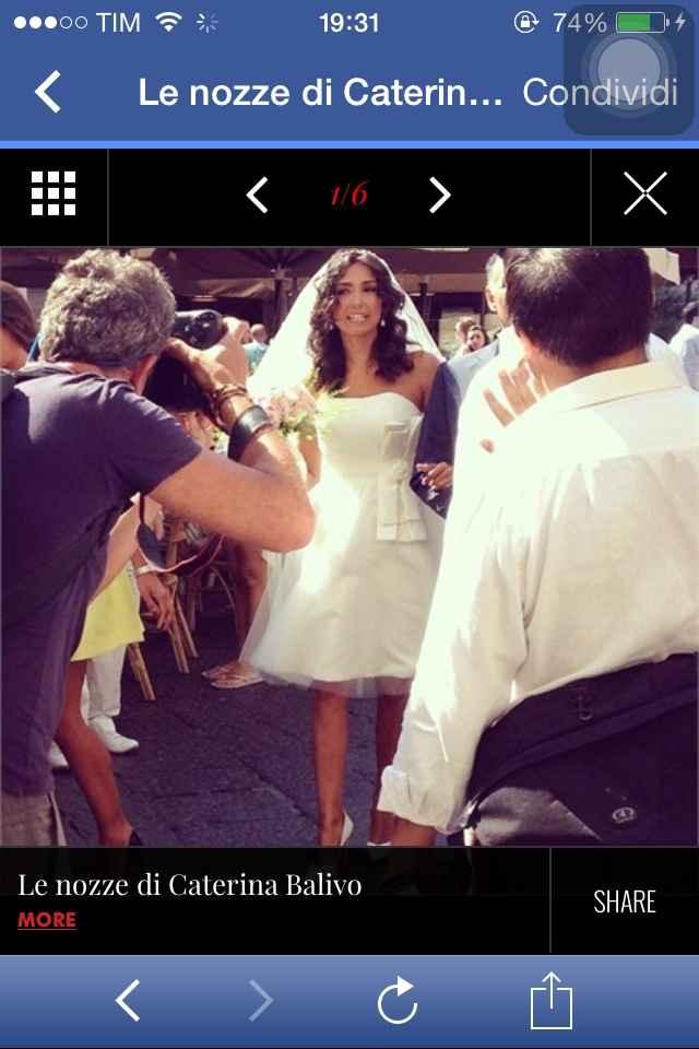 Caterina Balivo sposa  - 1