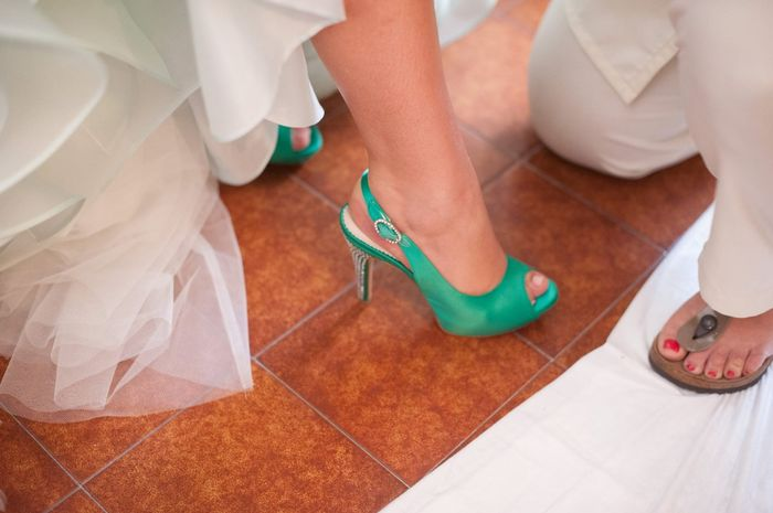 Scarpe Verdi Sposa.Le Mie Scarpe Verde Smeraldo Pagina 4 Moda Nozze Forum