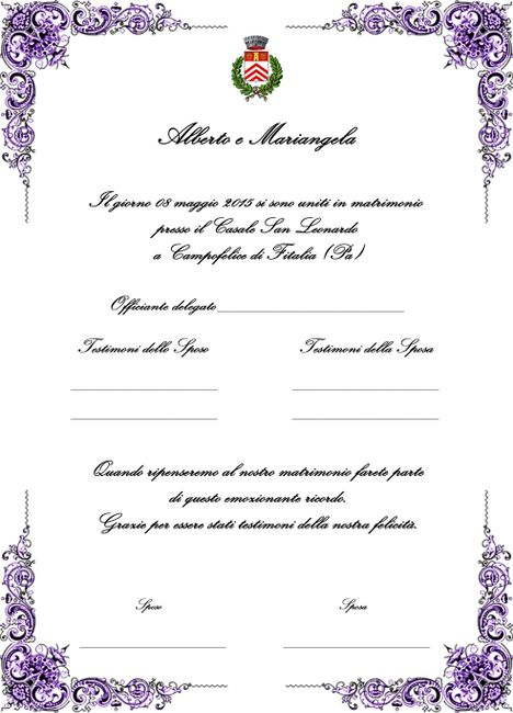 Pergamena Matrimonio Simbolico : Rito simbolico cerimonia nuziale forum matrimonio