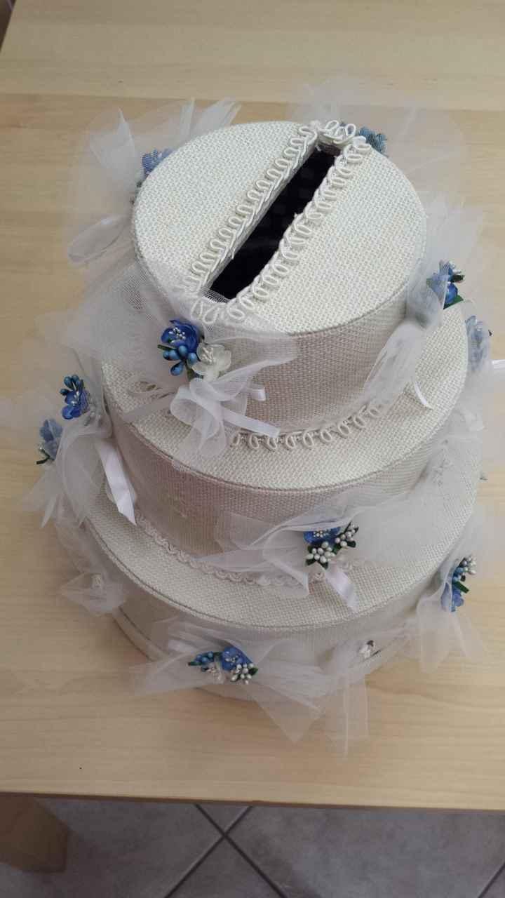 La mia torta porta buste!!  - 2