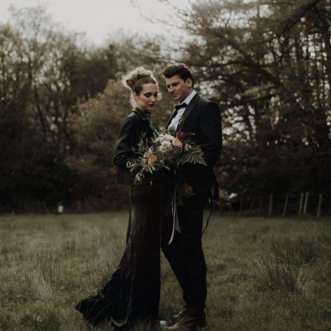 Stile matrimonio: Gotico - 1