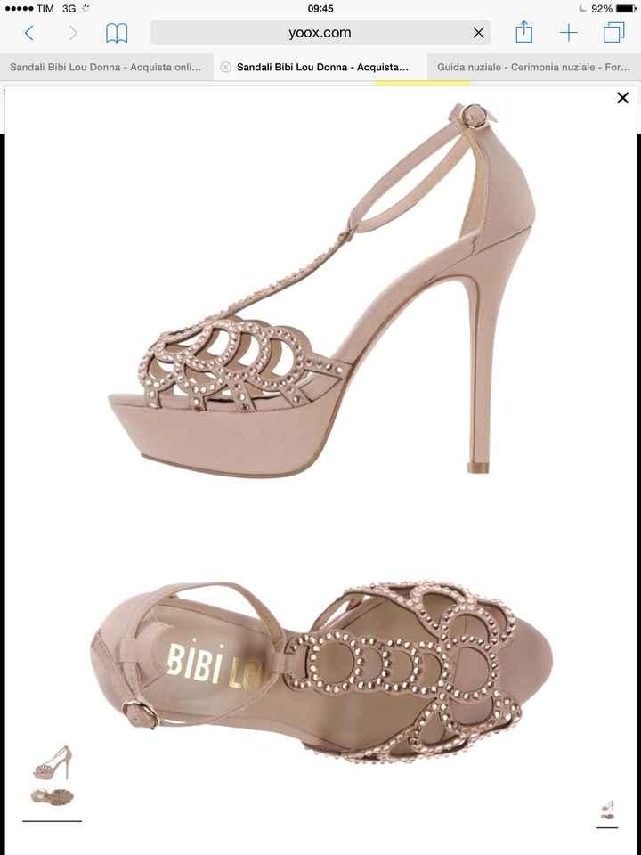 Ecco le mie scarpe