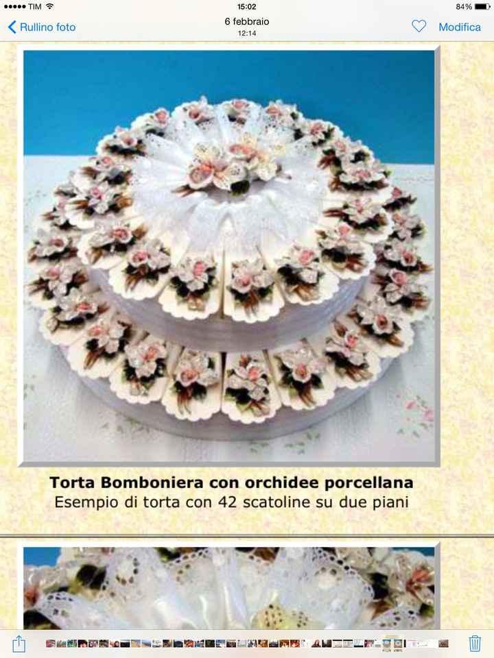Torta-bomboniera