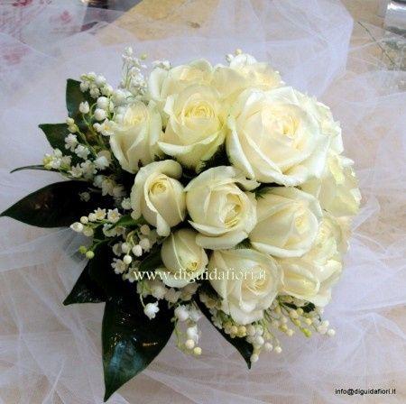 Bouquet Sposa Rose E Calle.Per Chi Optera Per Un Bouquet Di Rose Bianche Organizzazione